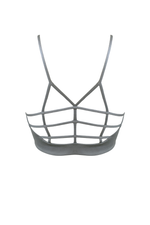 AGAPI Sports Bralette in Smoke