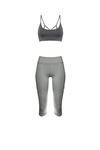 AGAPI Sports Bralette in Charcoal