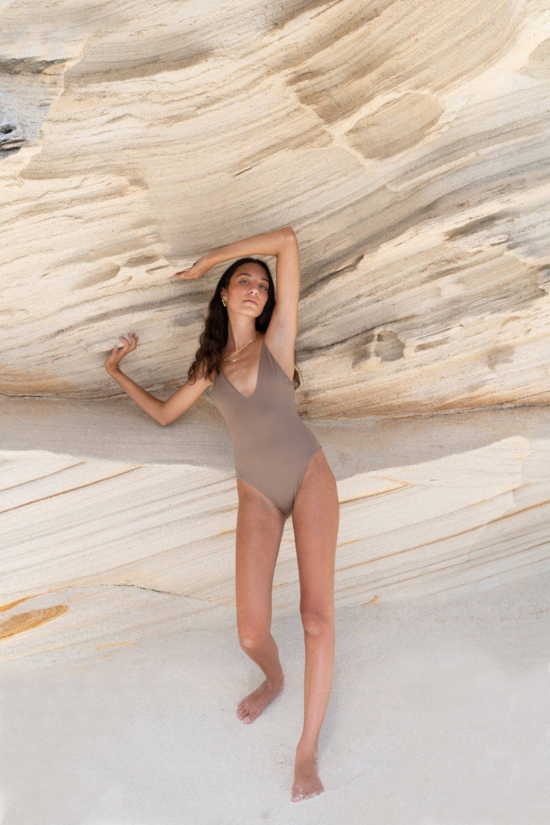 BEVERLY One Piece Taupe