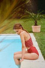 GABI Trikini in Flower Knot Red