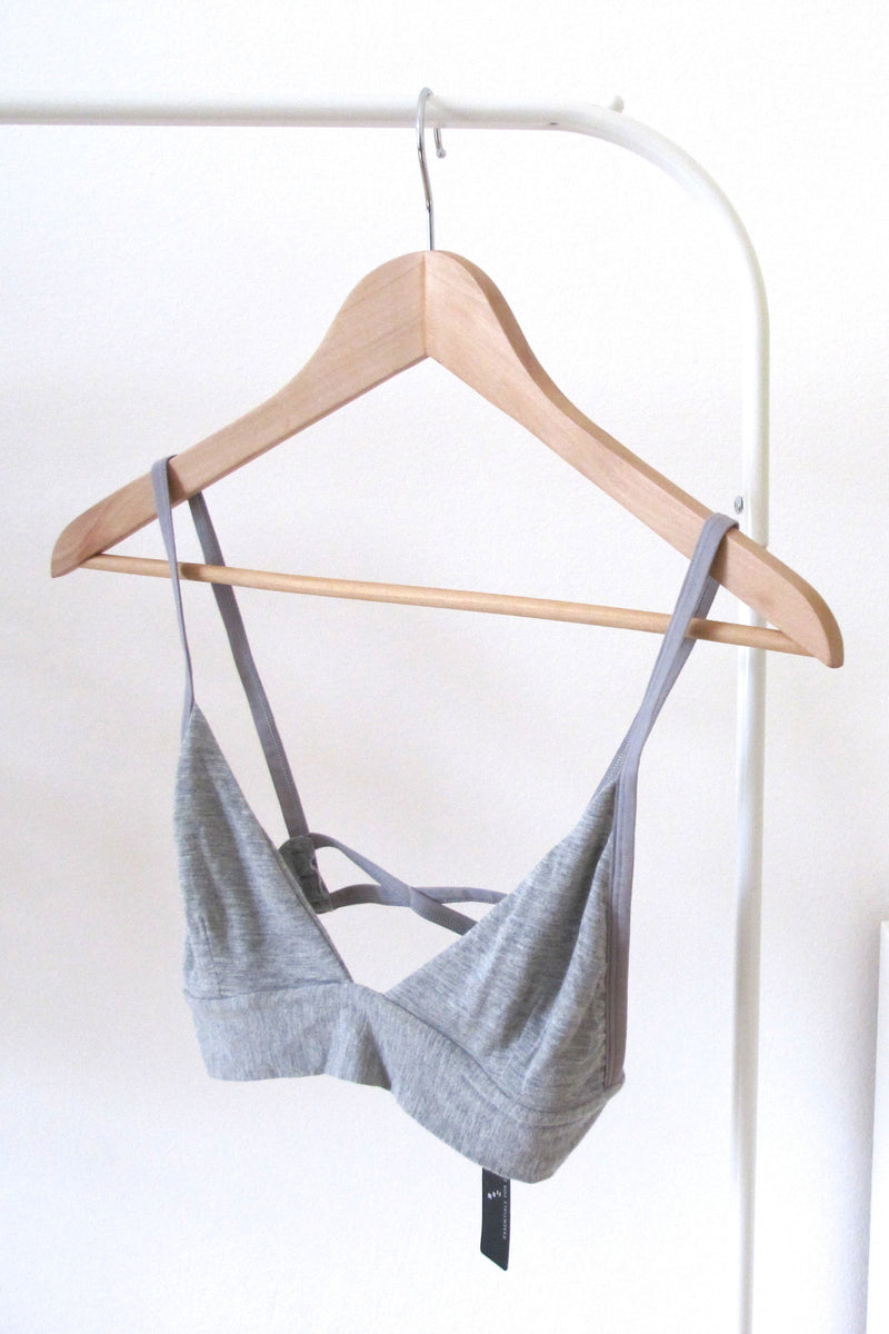 SYLVIA Bralette in Grey