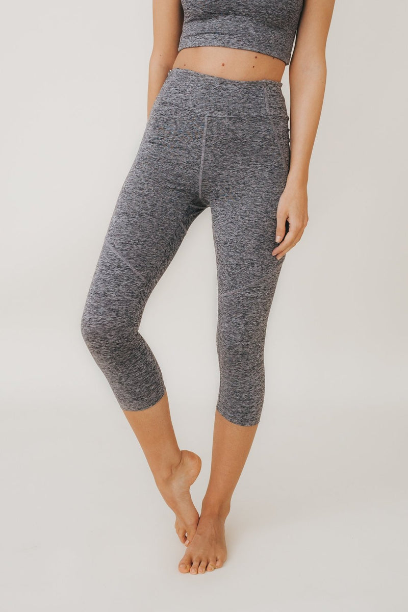 JULIE 3/4 Leggings in Smoke