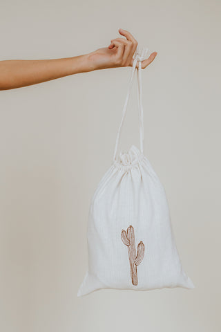 VOYAGE Bag Natural Washed Cotton