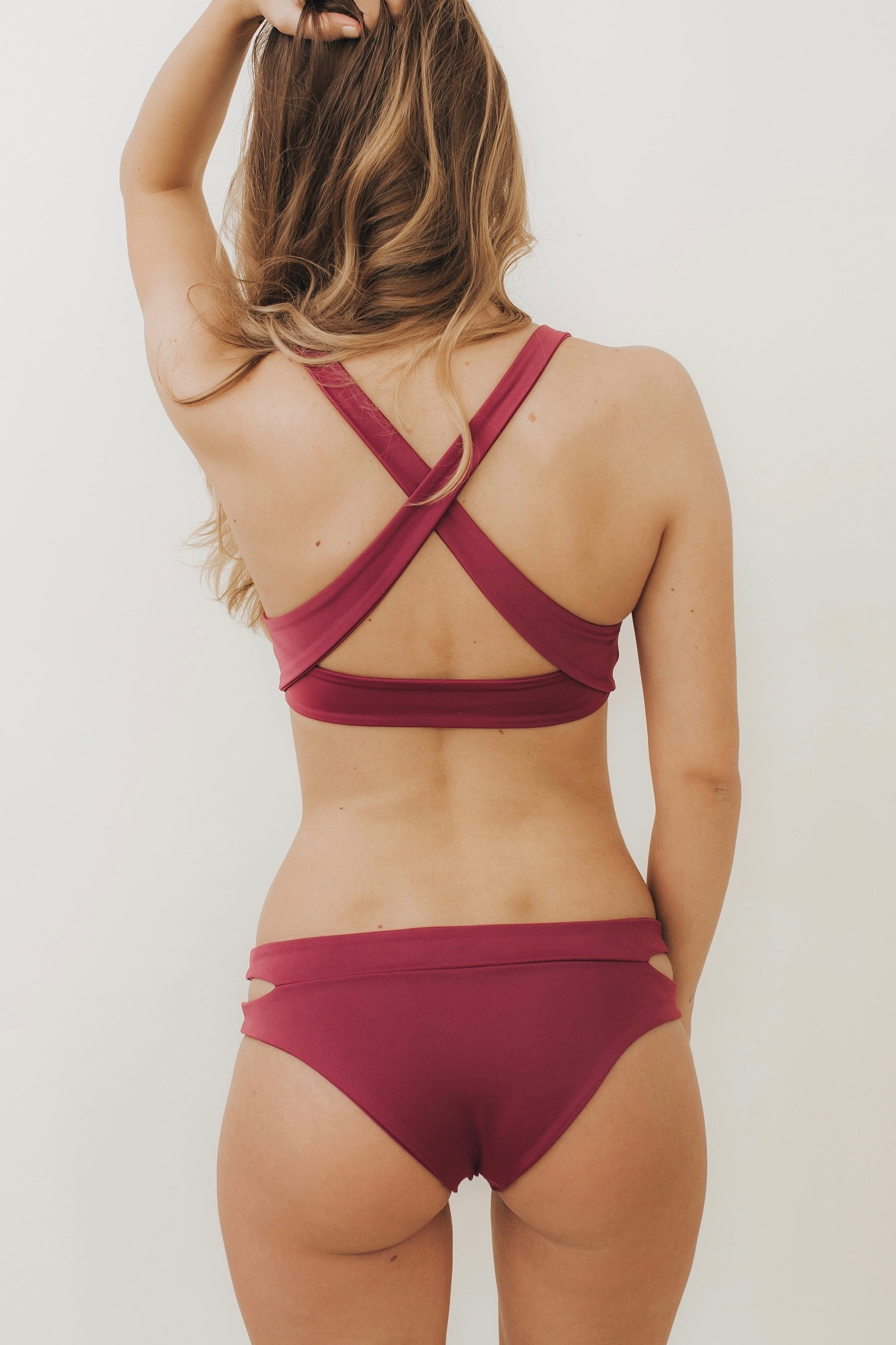 CUT-OUT Bottoms Mulberry