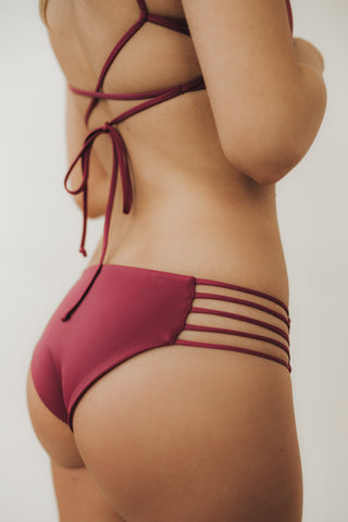 MULTI-STRAP Bottoms Mulberry