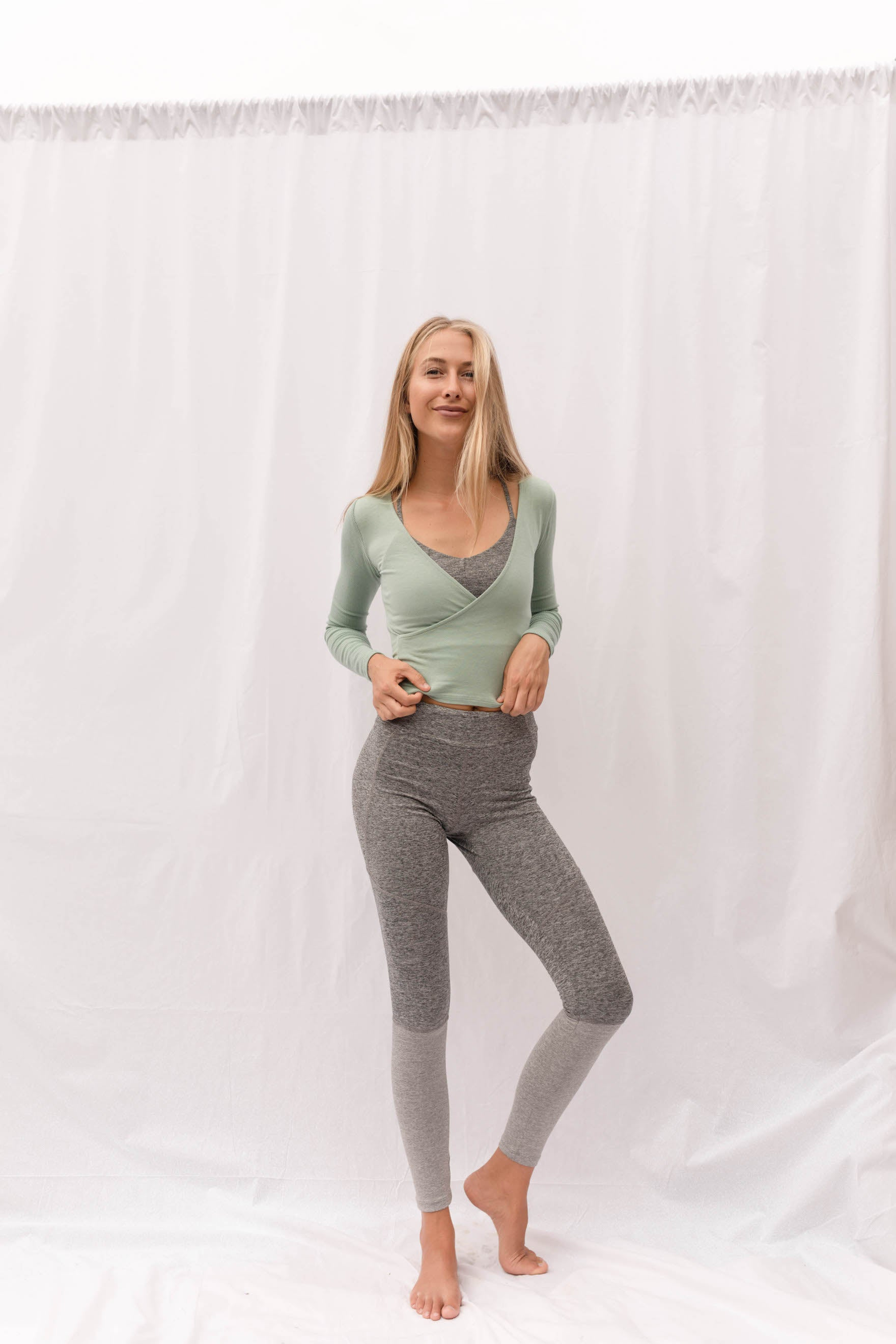 LAGOM Long Sleeved Top Mint