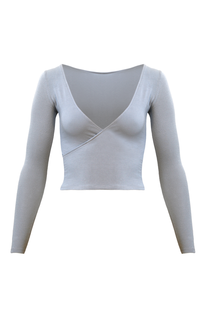 LAGOM Long Sleeved Top in Mist