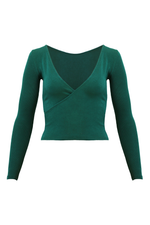 LAGOM Long Sleeved Top in Teal