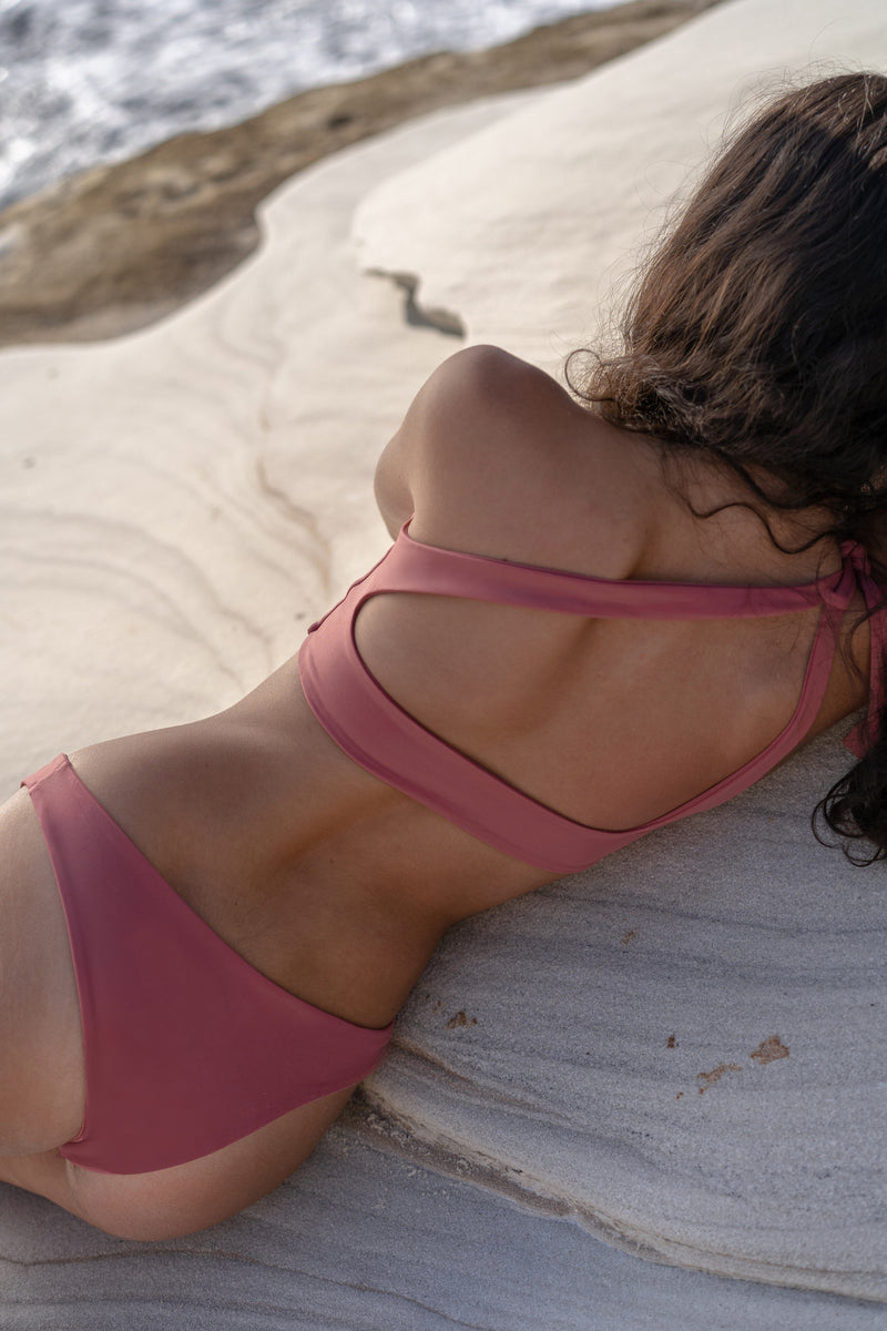 NAYA Bikini Top in Dusty Rose