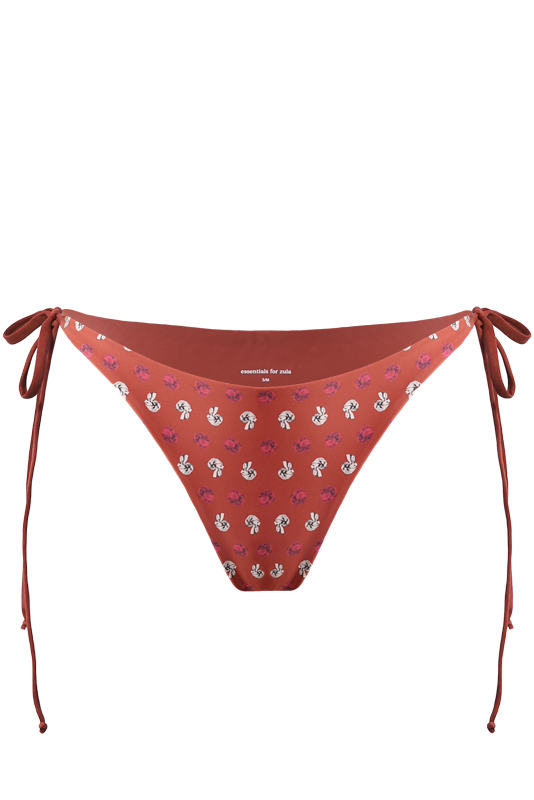 THEIA Bottoms in Flower Knot Red