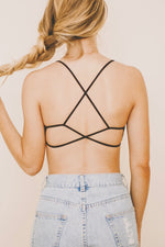 ANTHEA Bralette Black