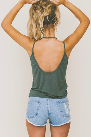 ISABELLE Wrap Top Mint