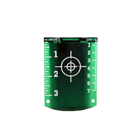 Linestorm Magnetic Green Laser Target For Use With Laser Levels