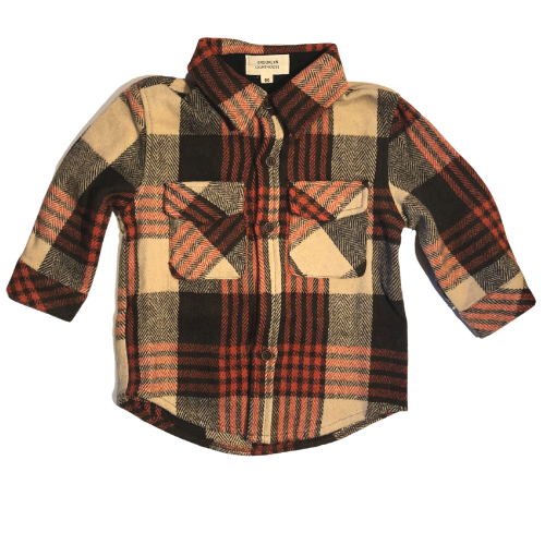 Tilden Heavy Flannel Shacket