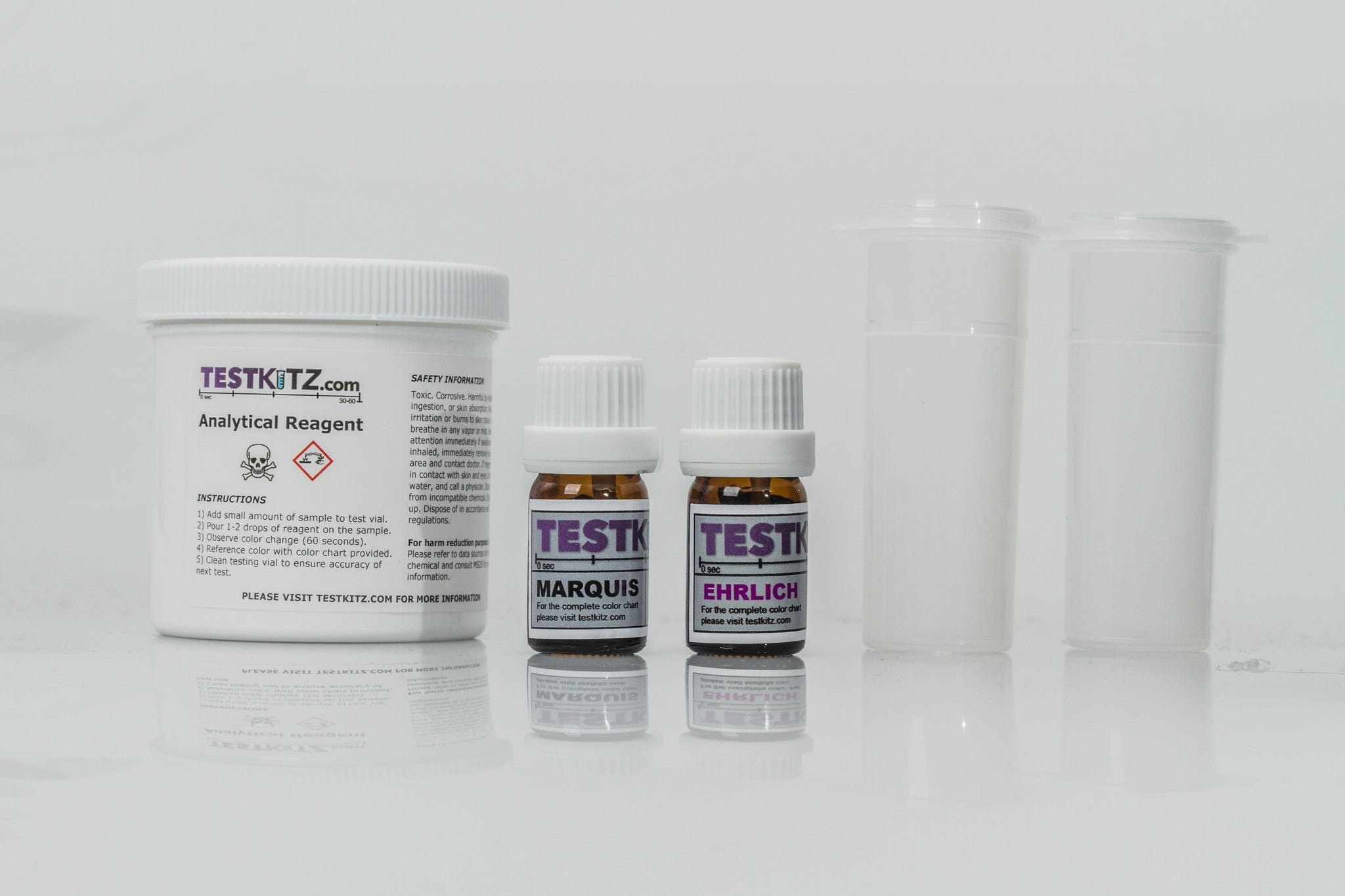 Ehrlich And Marquis Combo Package Test Kit Testkitz