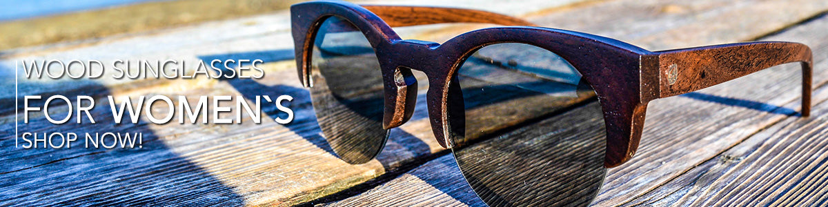 wood sunglases for women´s and frames sunglases