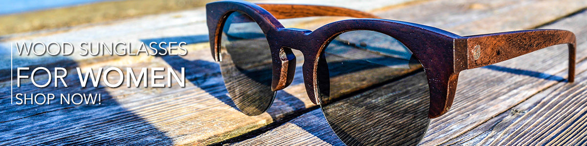 Wood Sunglasses for women