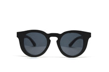Load image into Gallery viewer, Cat Eye Keyhole Sunglasses - Black Bamboo