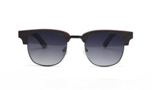 Load image into Gallery viewer, Semi Frame Sunglasses - Ebony Wood