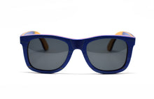Load image into Gallery viewer, Skateboard Wood Wayfarer - Blue