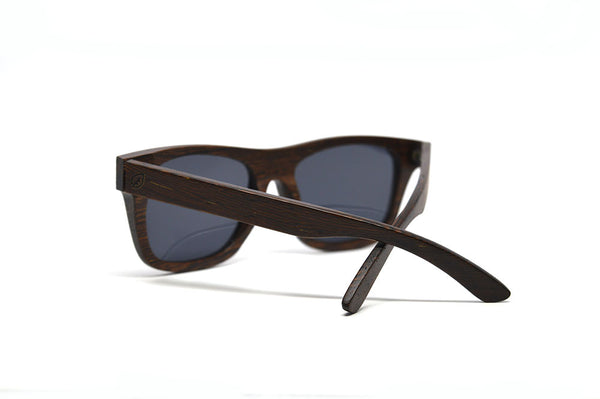 Solid Natural Wenge Wood Sunglasses for <span class=money>$96.00</span> at Keepwood Eyewear