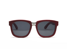 Load image into Gallery viewer, Rectangular Oversized Sunglasses - Red Bamboo
