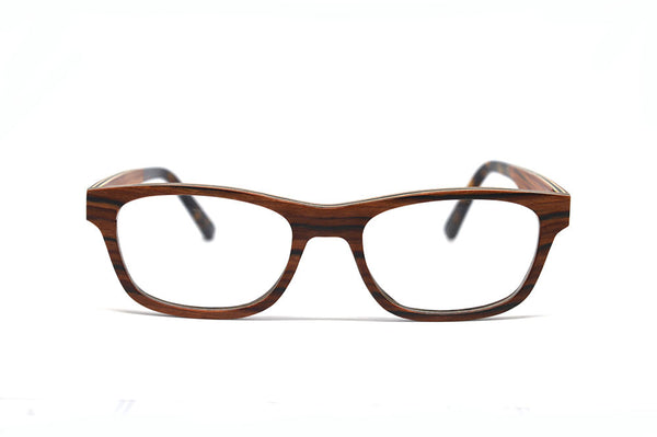 Classic Wooden Optical Frame - Rosewood for <span class=money>$103.50</span> at Keepwood Eyewear