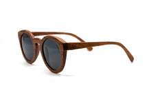 Load image into Gallery viewer, Cat Eye Keyhole Sunglasses - Rosewood