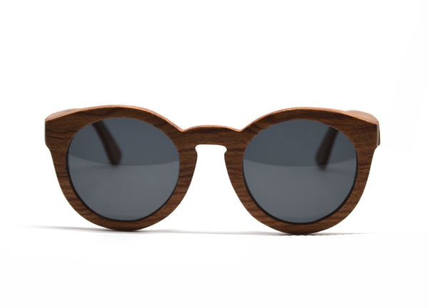 Cat Eye Keyhole Sunglasses - Rosewood for <span class=money>$93.75</span> at Keepwood Eyewear