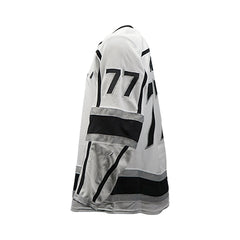 Jeff Carter Game-Worn Away Jersey (2018-19 Season, Set 2)