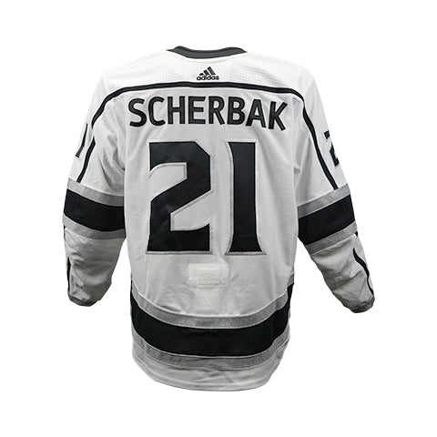 Nikita Scherbak Game-Worn Away Jersey (2018-19 Season, Set 2)