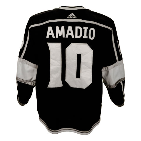 Michael Amadio Game-Worn Home Jersey (2019-20 Season, Set 1)