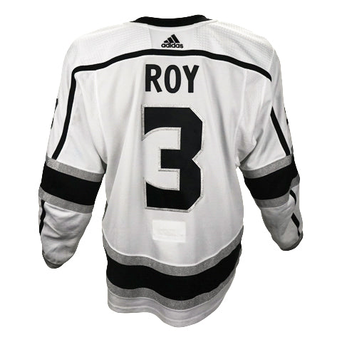 Matt Roy Game-Worn Away Jersey (2019-20 Season, Set 1)