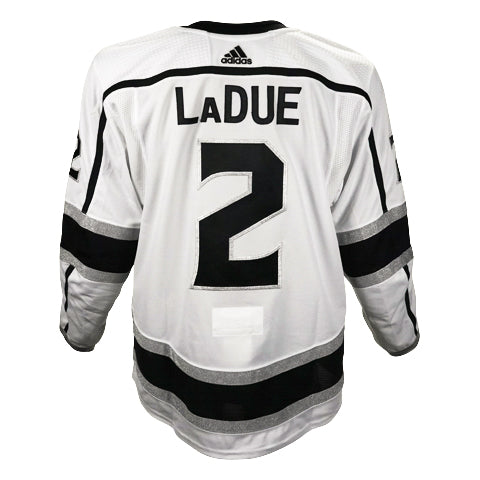 Paul LaDue Game-Worn Away Jersey (2019-20 Season, Set 1)