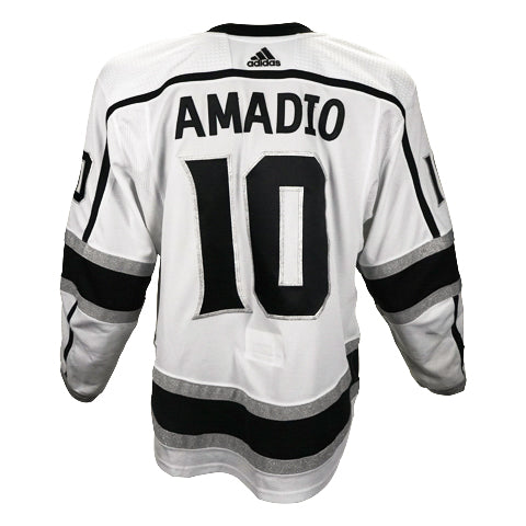 Michael Amadio Game-Worn Away Jersey (2019-20 Season, Set 1)