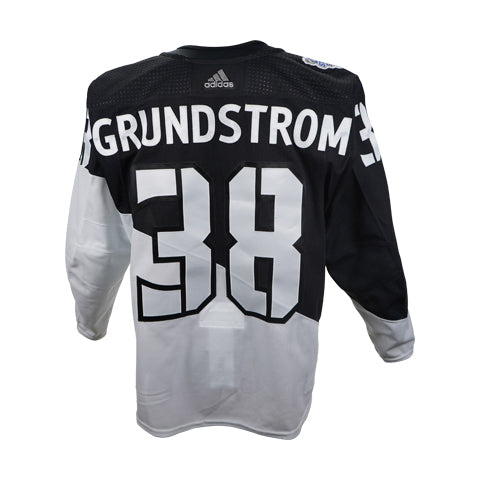 Carl Grundstrom Game-Issued Stadium Series Jersey