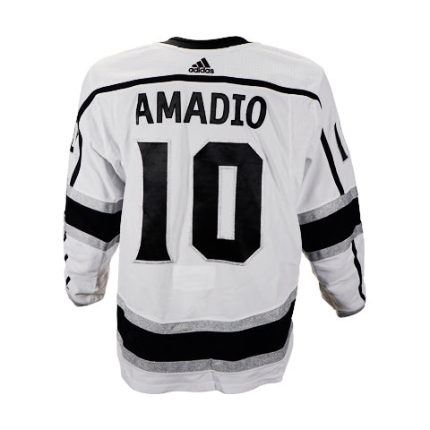 Michael Amadio Game-Worn Away Jersey (2019-20 Season, Set 2)