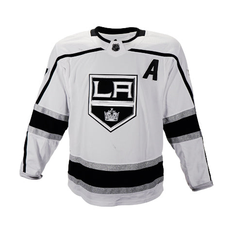 Jeff Carter Game-Worn Away Jersey (2019-20 Season, Set 2)