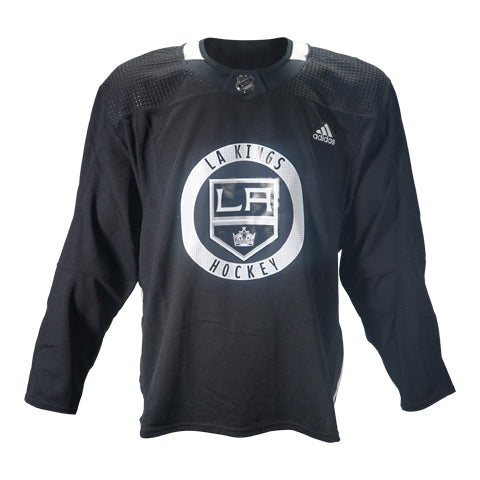 Official LA Kings Black Team-Issued Practice Jersey