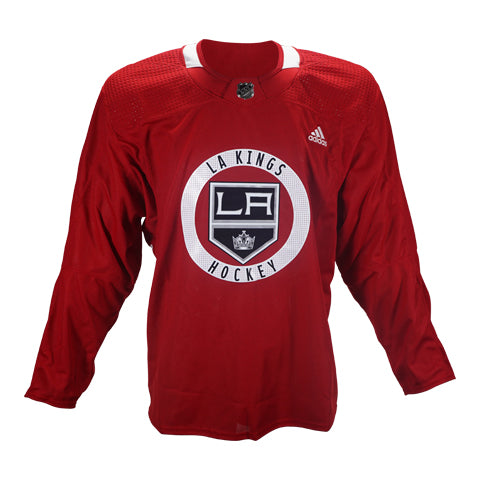 Official LA Kings Red Team-Issued Practice Jersey