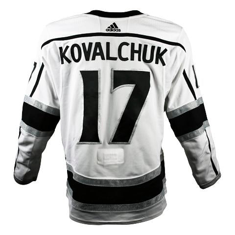 Ilya Kovalchuk Game-Worn Away Jersey (2018-19 Season, Set 1)