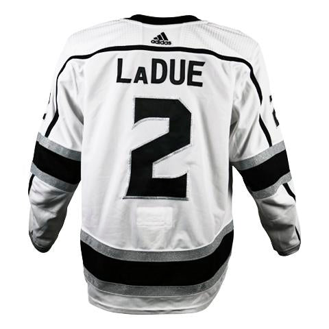 Paul LaDue Game-Worn Away Jersey (2018-19 Season, Set 1)