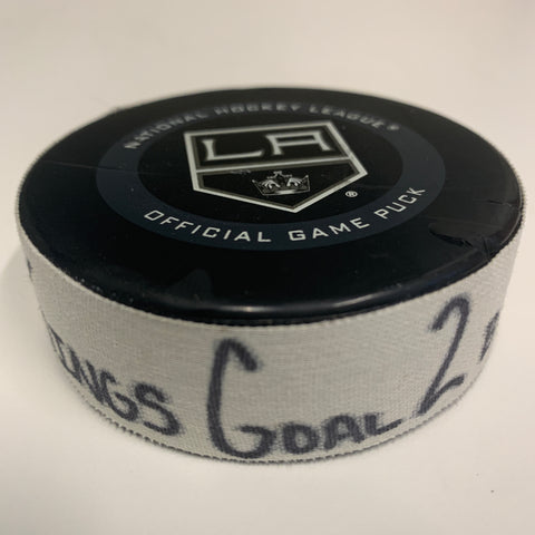 Matt Roy Goal Scored Puck 11/02/19 Goal 2