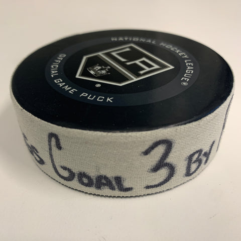 Matt Roy Goal Scored Puck 11/27/19 Goal 3