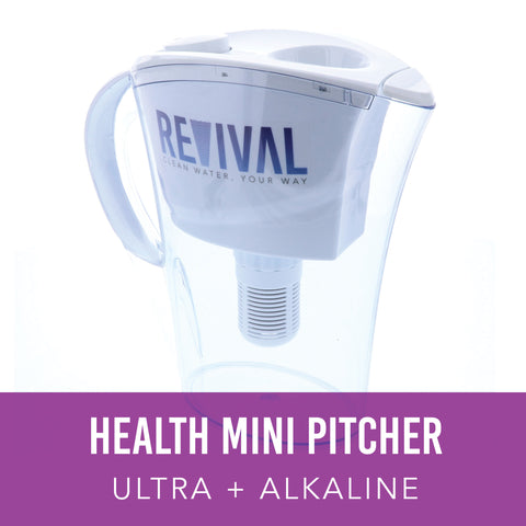 HEALTH: ULTRA + Alkaline Mini Water Pitcher