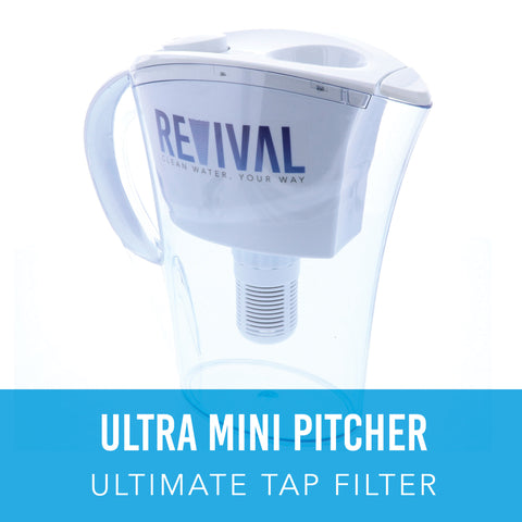 ULTRA: Ultimate Tap Filter Mini Water Pitcher