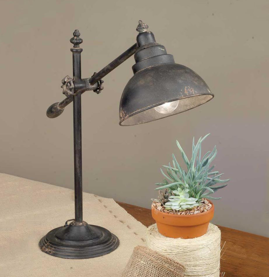 Adjustable Swing-Arm Task Lamp - The Painted Porch Co