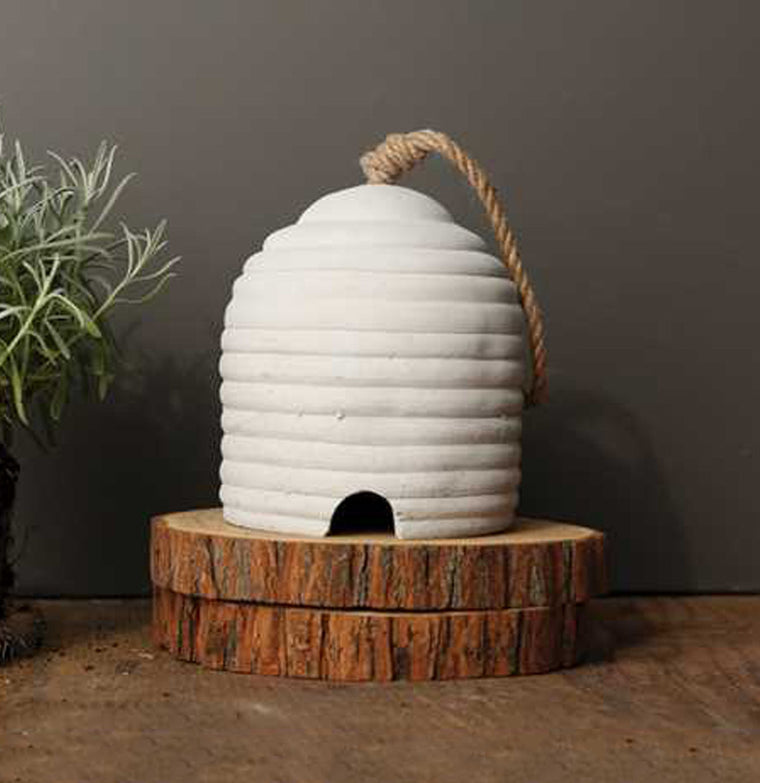 Cement Bee Skep - The Painted Porch Co