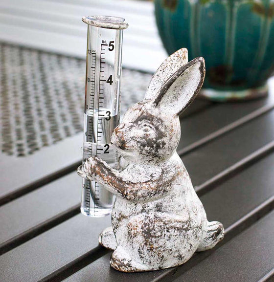 Bunny Rain Gauge - The Painted Porch Co