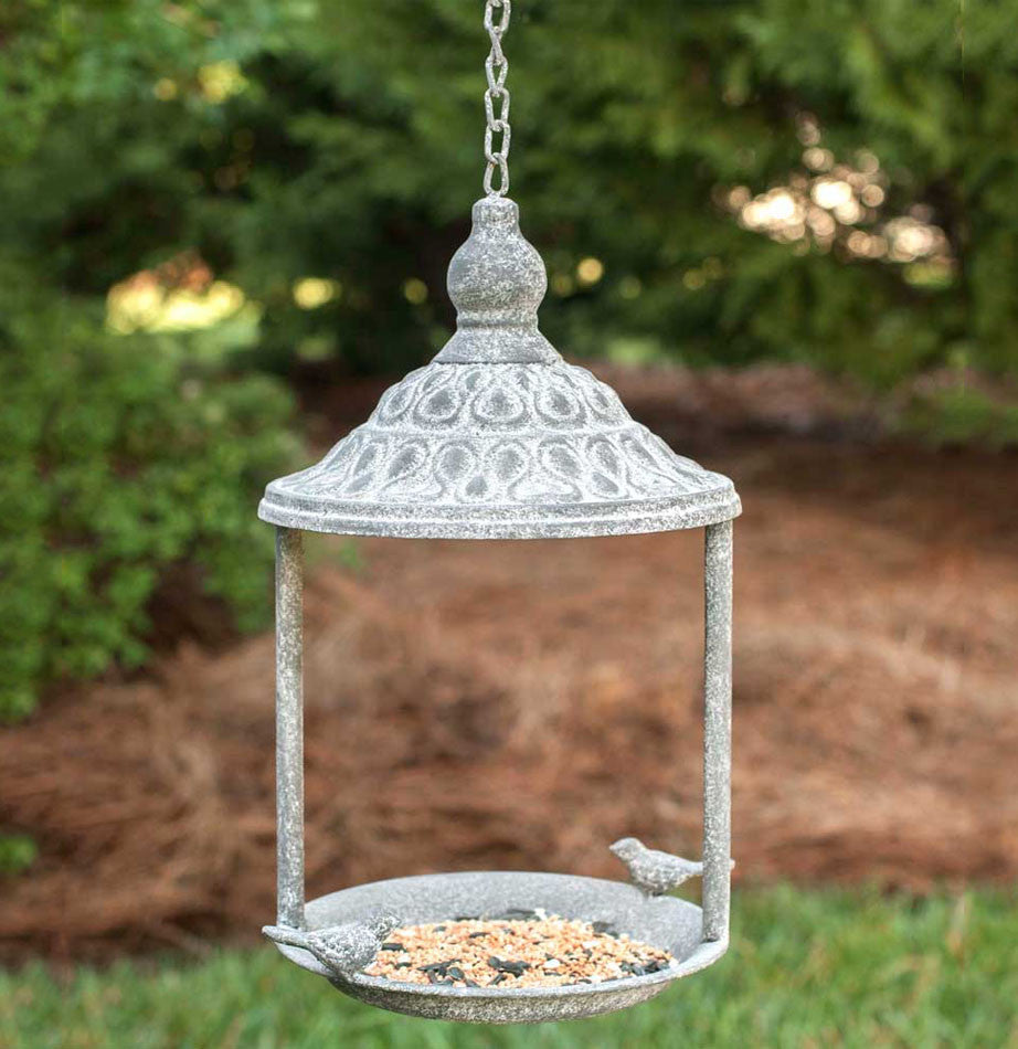 Hanging Gazebo Bird Feeder - The Painted Porch Co